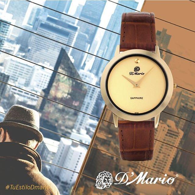 Para que hoy #miércoles tengas el poder del #tiempo en tus manos...#RelojesDMario tiene para #ellos este #reloj de color café y dorado... para que luzcas lo mejor de #TuEstiloDMario. PrecisiónSuiza #FelízMiércoles #YoAmoDMario #EstiloDMario #Enero #Elegante #LifeStyle #Zafiro #MovimientoSuizo #Watches #Men  Referencia: ZL 3180  Visítanos en nuestros puntos de venta y ahora conoce nuestra tienda online https://goo.gl/CSbOC4 te esperamos!!
