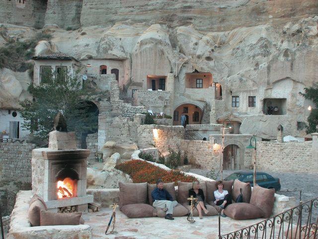 houses cave in Cappadocia