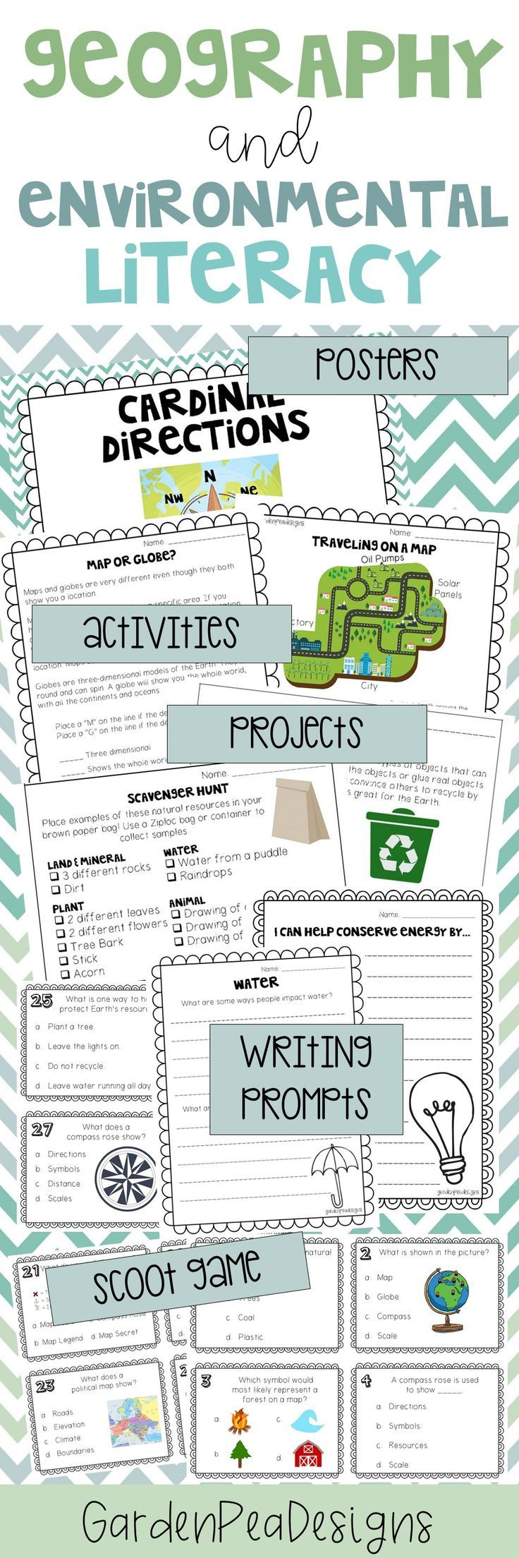 $15.00 Tons of posters, activities, reading passages, worksheets, writing  prompts and more