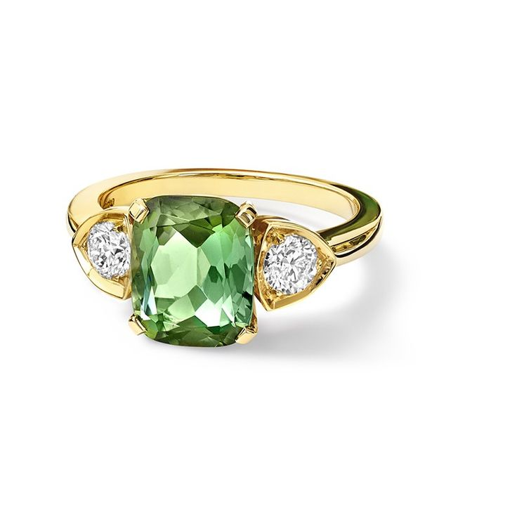 Katie Green Tourmaline Ring