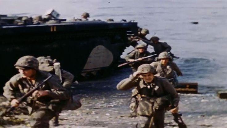 U.S. flag raised on Iwo Jima - Feb 23, 1945 - HISTORY.com