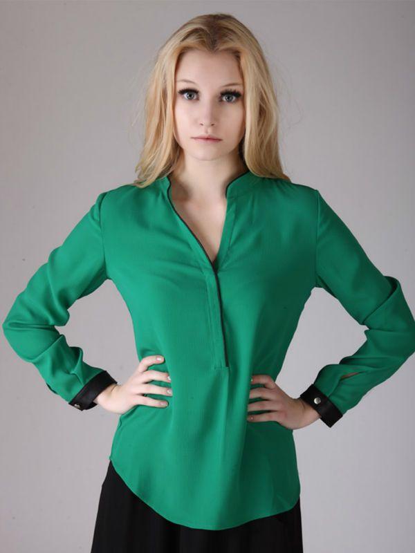 Blusas frescas con manga 6
