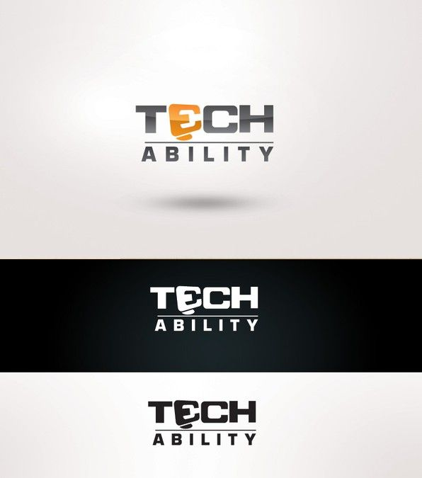 Logo for TECHability - Mobile computer repairs for the Premium market by Portare