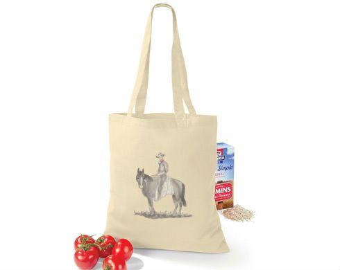 """""""Nákupní taška Pozdrav z Texasu"""" (""""Shopping Bag Greetings from Texas"""")   approx. $10"""