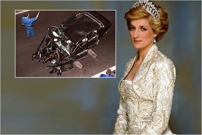 Mira lo que reveló un testigo de la muerte de la princesa Diana