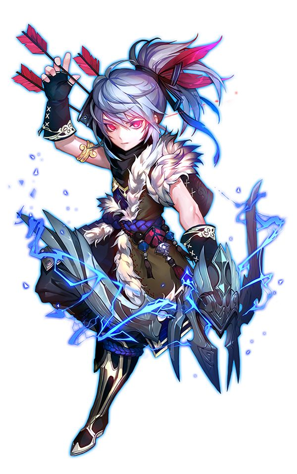 Character Design Game Anime : Best 角色設計弓箭手類 character design archery images on