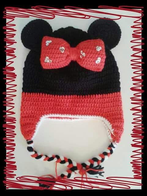 Crochet minnie mouse!  https://m.facebook.com/PinelopisHandmade/