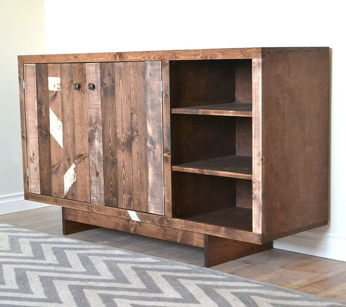 1000 Images About Ideas To Build Custom Buffet Side Table
