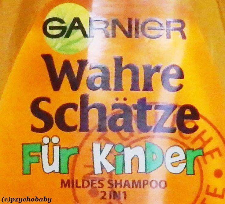 Garnier Wahre Schätze für Kinder  #Garnier #Shampoo #Kinder #Kindershampoo #Werbung #Haarpflege #Hair