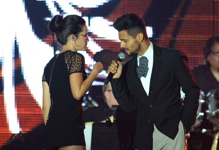 Draco Rosa y Ximena Sarinana