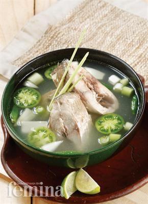 Femina.co.id: Sup Ikan Kuwe #resep