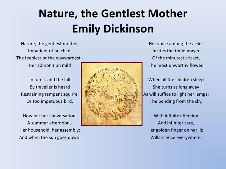 Image result for poems on mother nature