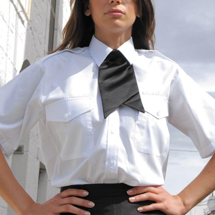 Ladies Uniform Blouses | Security | Uniforms | Ladies | Pilot Shirt | Short Sleeve | Embroidery