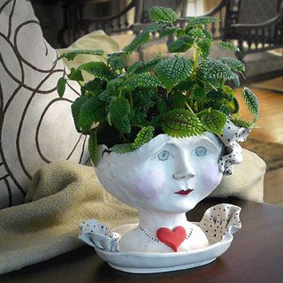 Victorian Lovelies Planter - Debutante Version