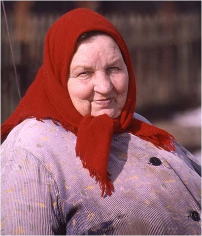 The Russian Peasant Woman Of 11