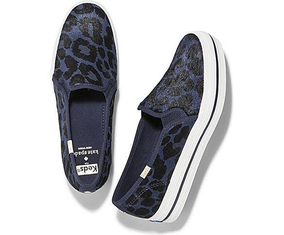 keds x kate spade new york triple decker leopard sneakers