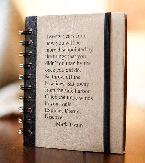 Quote about traveling from Mark Twain