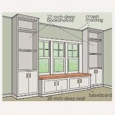 built in window seats with storage - Google Search