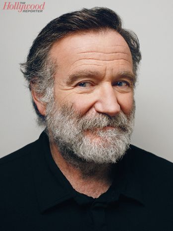 """robin williams. This is for Terri, for whom she named our black cat, """"robin"""""""