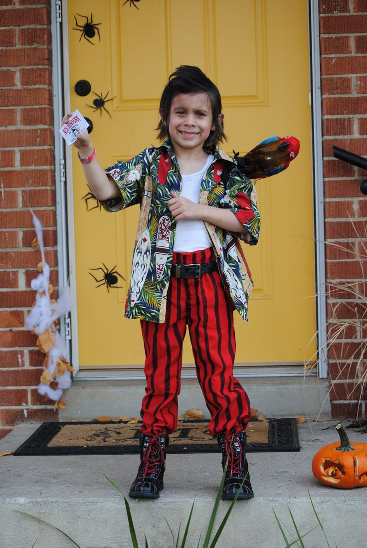 ace ventura kids costume cool kids costumes halloween diy - Ace Ventura Halloween Costumes
