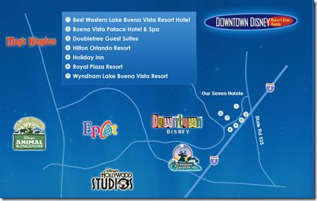 Tips for staying OFF Property at Disney World– Choose a resort or hotel nearby
