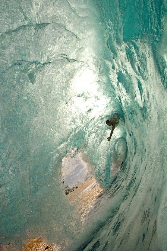 Inside a huge wave...Fun Recipe, Surf Up, Summer Picnics, The Ocean, Ocean Waves, Body Surf, Big Waves, The Waves, Green Room