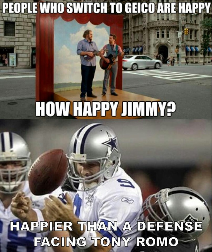 Happier Than A Defense Facing Tony Romo