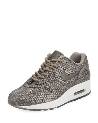 Air+Max+1+Premium+Leather+Sneaker+by+Nike+at+Neiman+Marcus.