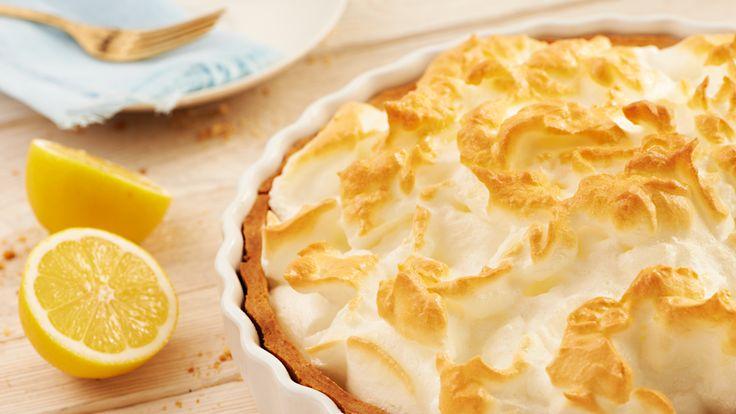 Doskonały przepis na pyszne ciasto - tartę cytrynową na kruchym spodzie ze słodką bezą tylko w Kuchni Lidla!