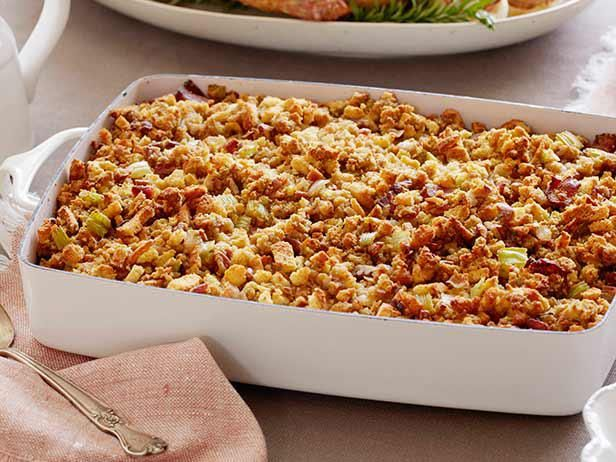 Round out your Thanksgiving feast with stuffing and dressing recipes from Food Network.