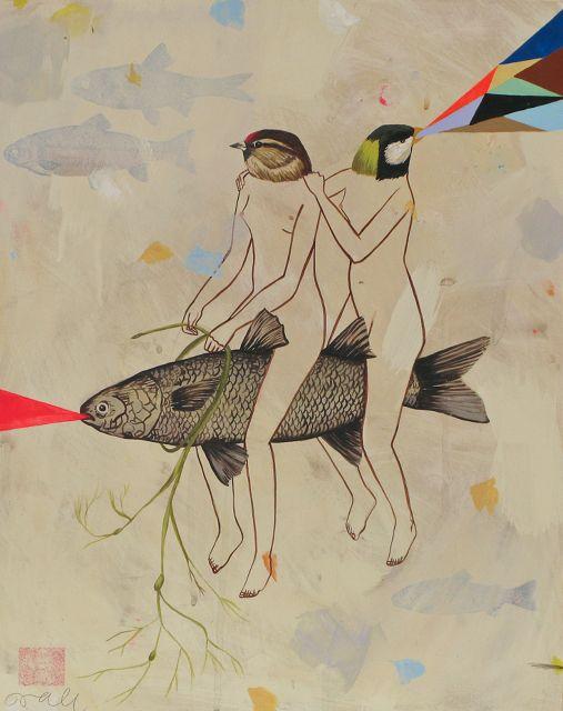 Deja Vu and her Euphonical Prisms by Deedee Cheriel