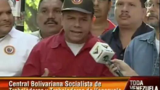 (Vídeo) Clase trabajadora respalda a la Revolución Bolivariana