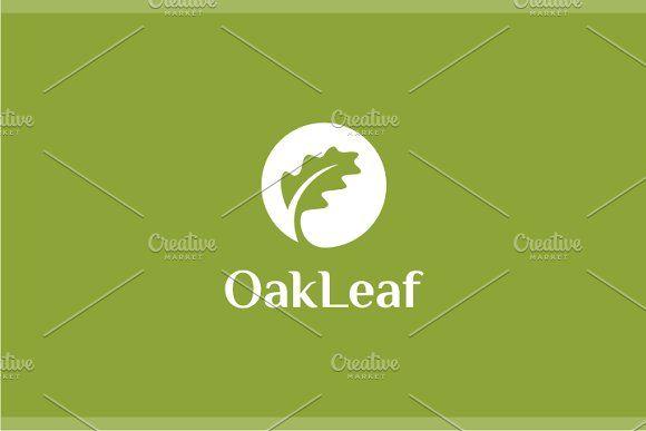 Oak Leaf Logo by yopie on @creativemarket