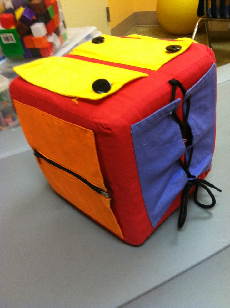 Dressing Cube Occupational Therapy Ideas Occupational