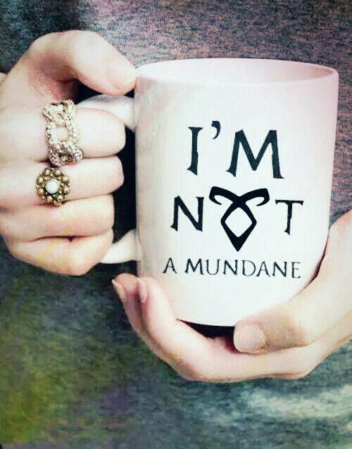 im not a mundane mug