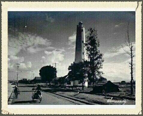 Mercu-suar Pelabuhan Semarang 1950-1960.