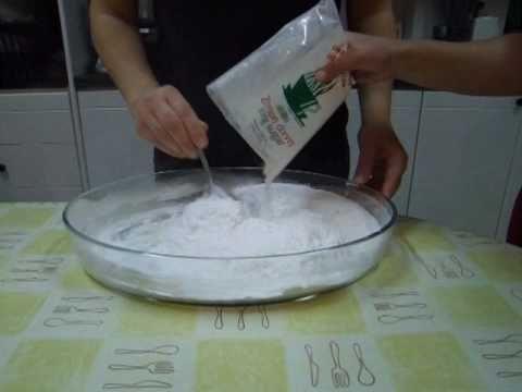 ΣΠΙΤΙΚΗ ΖΑΧΑΡΟΠΑΣΤΑ fondant recipe συνταγη ζαχαρόπαστα - YouTube