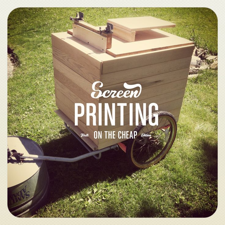 Project: Screen Printing Press