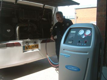 Did you know your air conditioning should be serviced every year to check and top up the refrigerant levels?  Main car dealers can charge the earth for this service, but at Bowers we can do it for you for a competitive price, meaning you can keep cool for less!  For more information call our service reception on 01782 590702