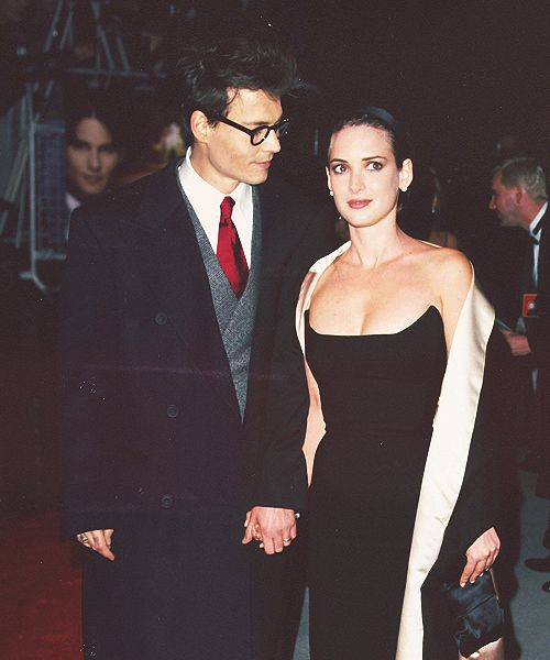 The way Johnny looked at Winona. | 21 Reasons Johnny Depp And Winona Ryder Should Get Back Together