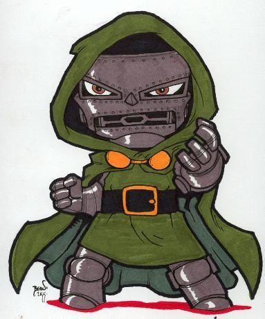 Chibi-Doom 2. by hedbonstudios.deviantart.com on @deviantART