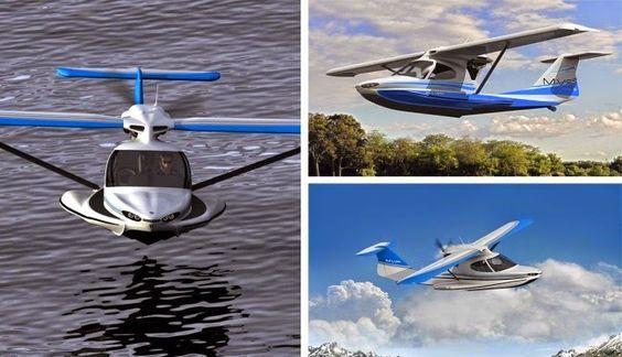 Un nuevo concepto de avión esta siendo desarrollado por una empresa de Minnesota, se trata del  MVP un avión anfibio plegable que po...