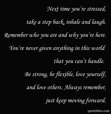 Keep moving forward quote