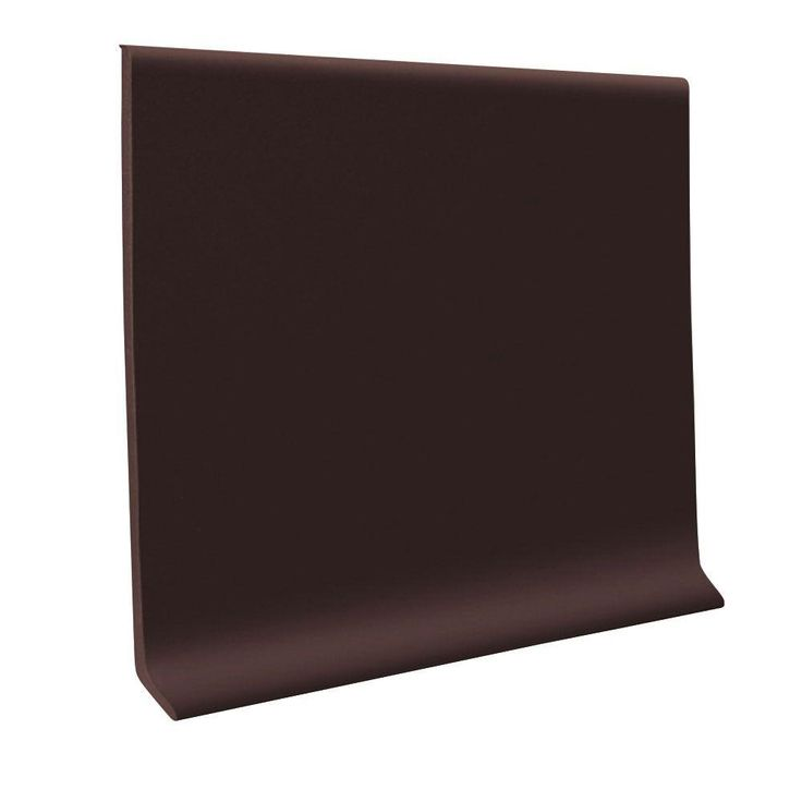 roppe 700 series brown 4 in x 18 in x 120 ft rubber wall cove base coil