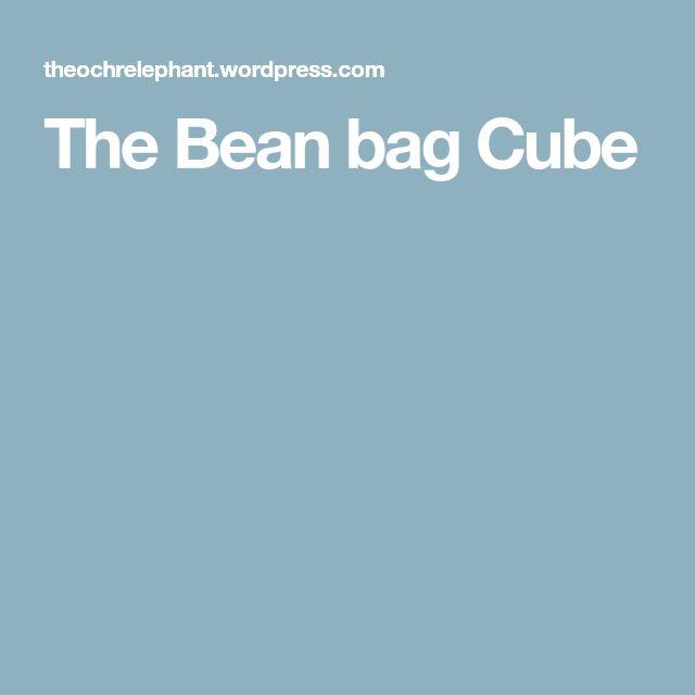 The Bean bag Cube