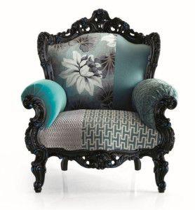 Prince baroque armchair