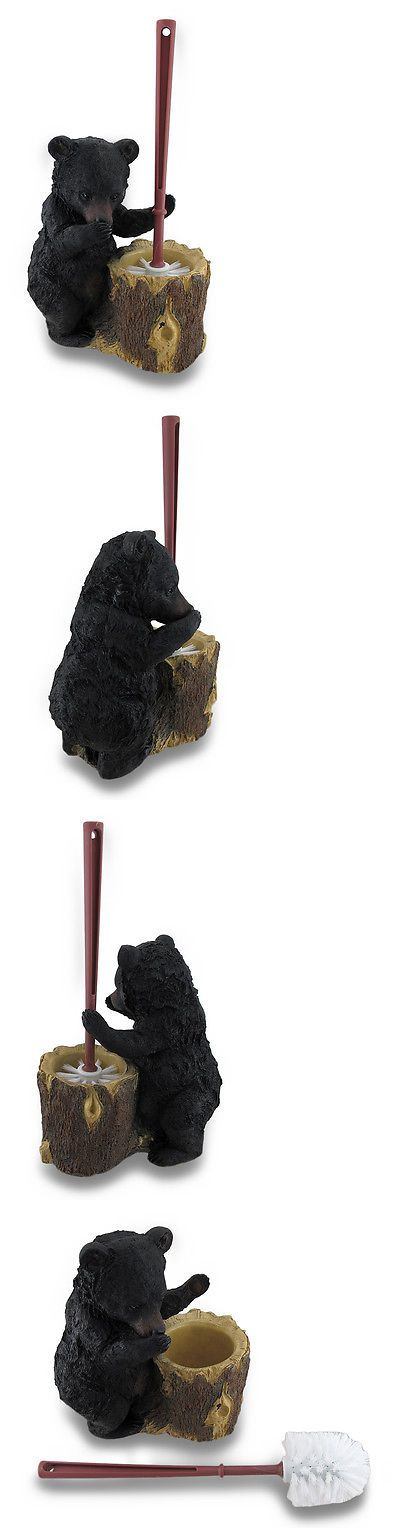 Toilet Brushes and Sets 66723: Black Bear Butler Toilet Brush And Holder 2 Piece Set -> BUY IT NOW ONLY: $43.59 on eBay!