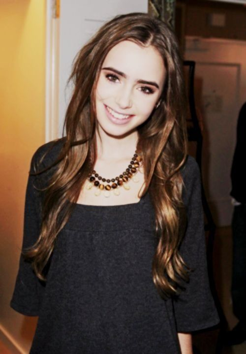 351 Best Images About Lily Collins On Pinterest Her Hair
