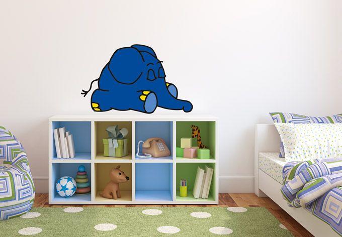 Wandtattoo Elefant 02 - Sendung mit der Maus Wandsticker | wall-art.de