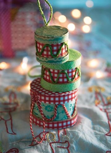 Trommer med mønster - Idéer til julen - Jul - Isabellas